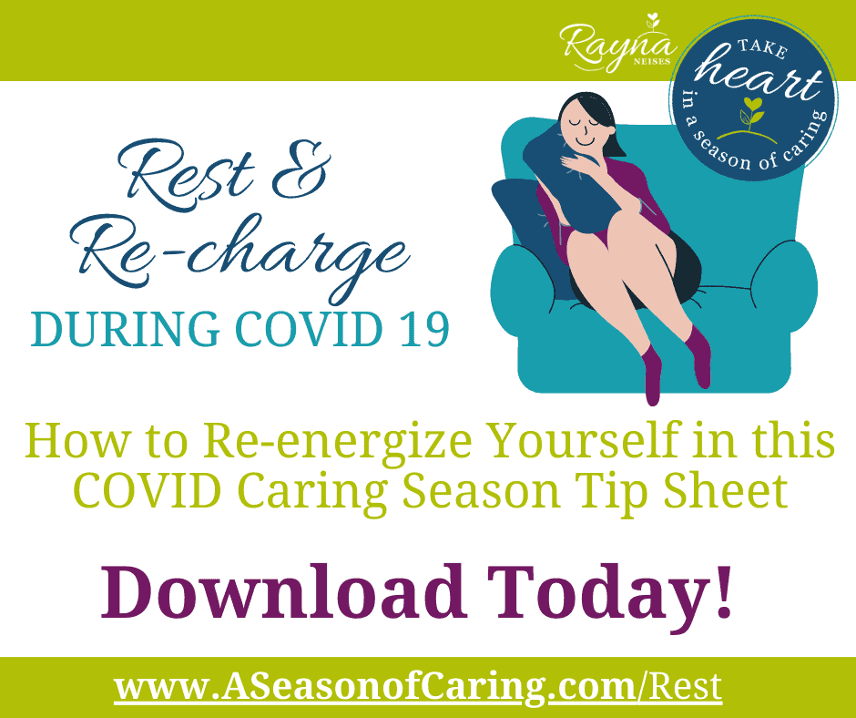 Rest and Recharge During COVID 19